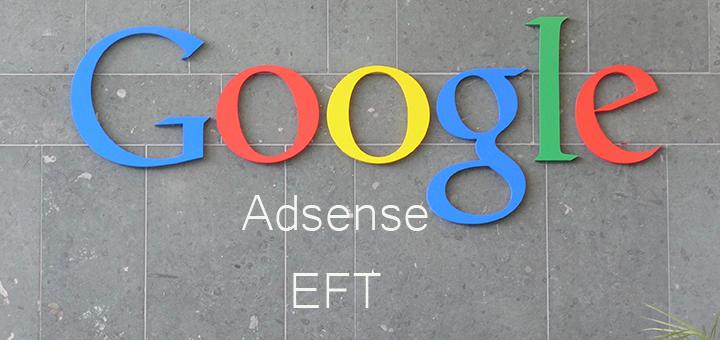 Google Adsense EFT
