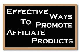 Promote Affiliate Products