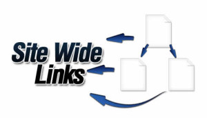 Sitewide links