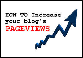 10 Tips to Increase your Blog's PageViews