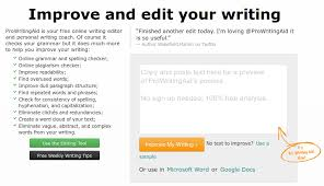 Article proofreading