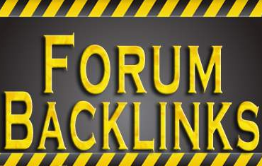 forum backlinks