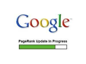 google page rank delayed