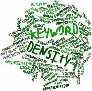 high keyword density