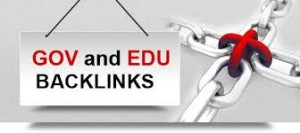 high pr edu and gov backlinks