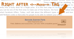 read more tag adsense ads