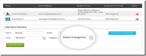 assign form fields