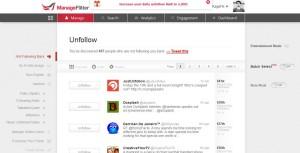 unfollow non followers on twitter