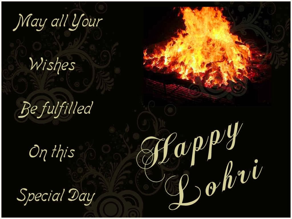 Happy Lohri ke SMS in Hindi Photo Gallery for free download