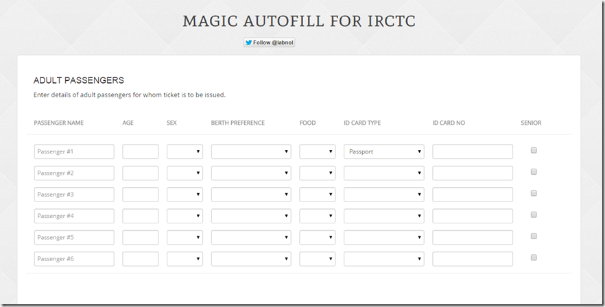 fill form magic autofill
