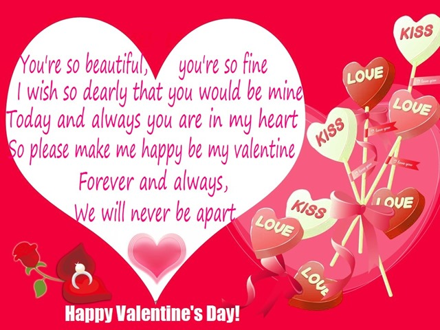 Happy Valentines Day Card Message Valentine S Day Info