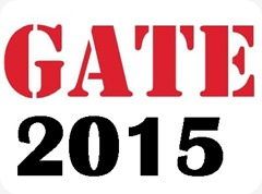 GATE 2015 exams results out