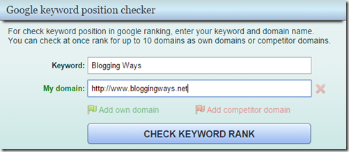 google keyword checker website