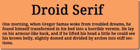 droid-serif
