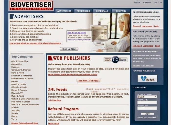bidvertiser Review - Online Ad Network