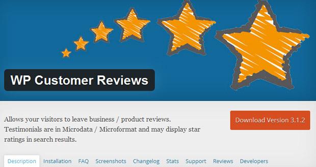 wp customers reviews