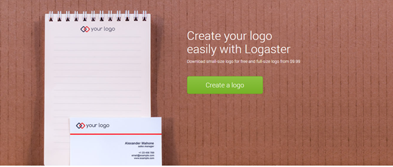 LOGASTER Review - Professional Online Logo Maker and